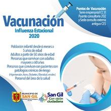 Vacunación Influenza 2020