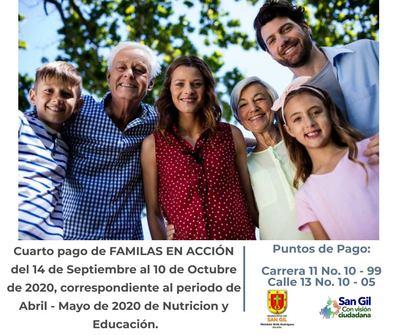 Pago subsidio Familias en Acción
