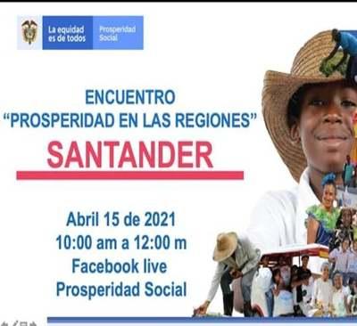 Encuentro Prosperidad en las Regiones Santander